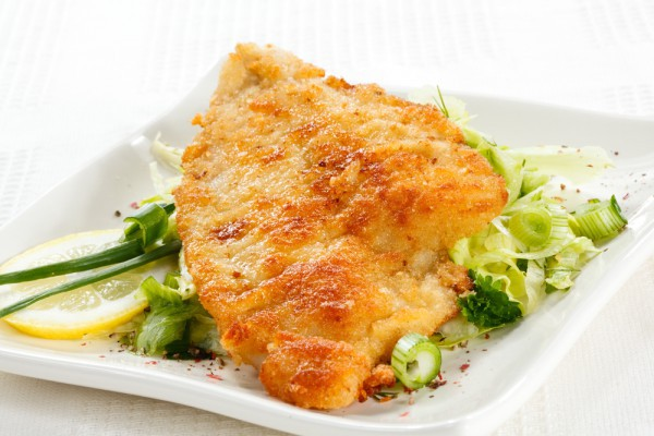 вкусная рыба в кляре