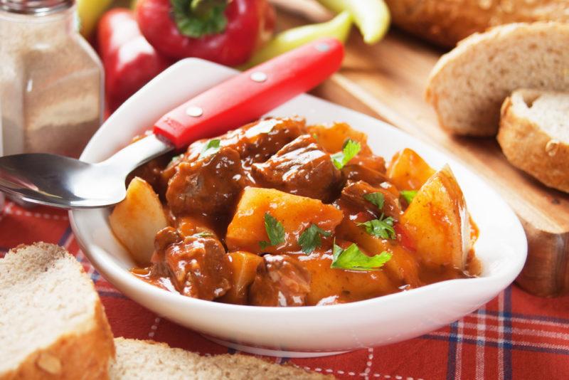 Гуляш из говядины рецепты приготовления