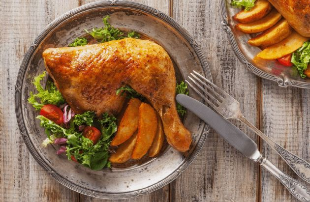 курица запеченная в духовке рецепт