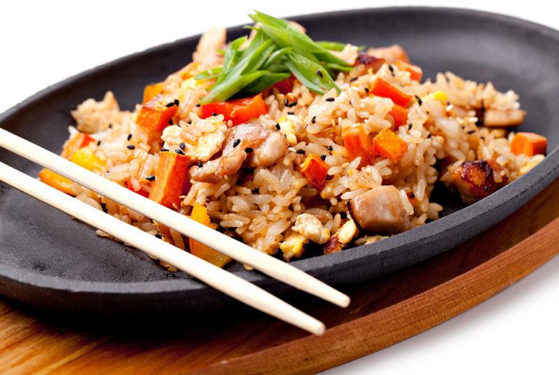 рис с овощами рецепты