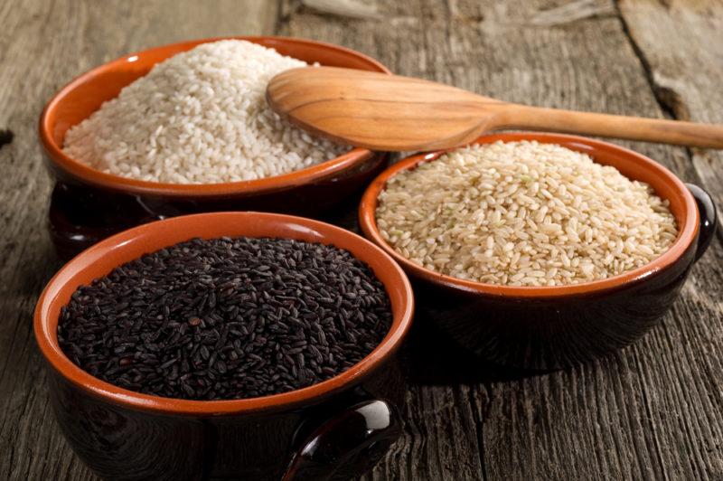 сварить рис
