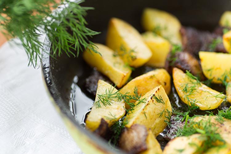 жареная картошка рецепт приготовления