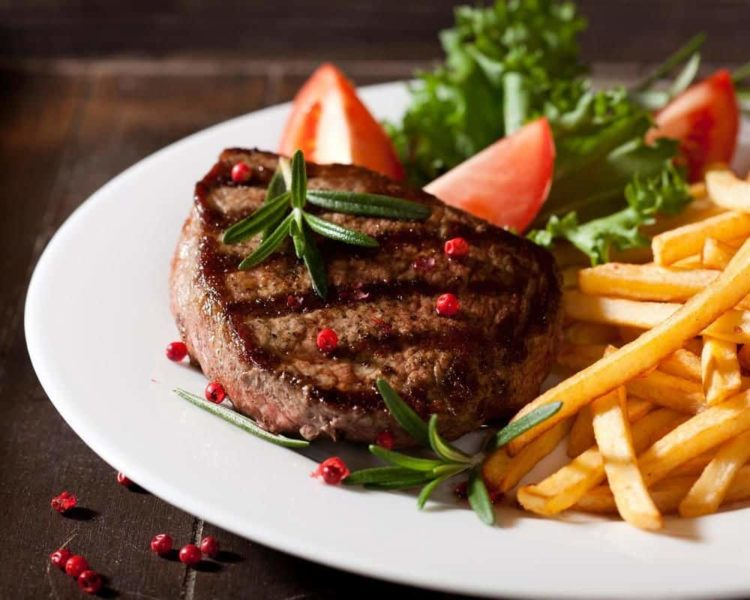 жареное мясо рецепт