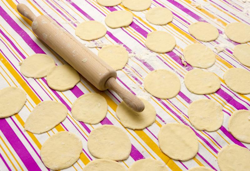 как готовить заварное тесто на вареники