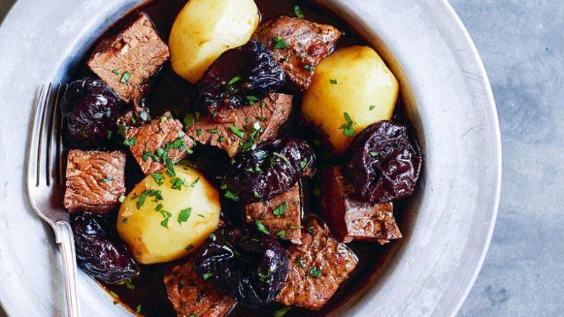 как готовить мясо с черносливом