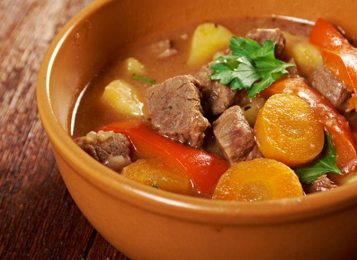 как готовить овощное рагу с мясом
