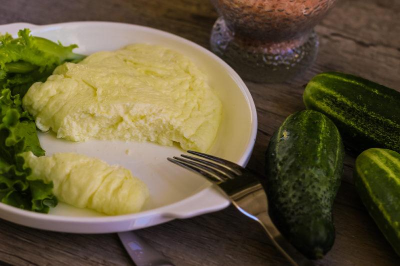 как готовить омлет
