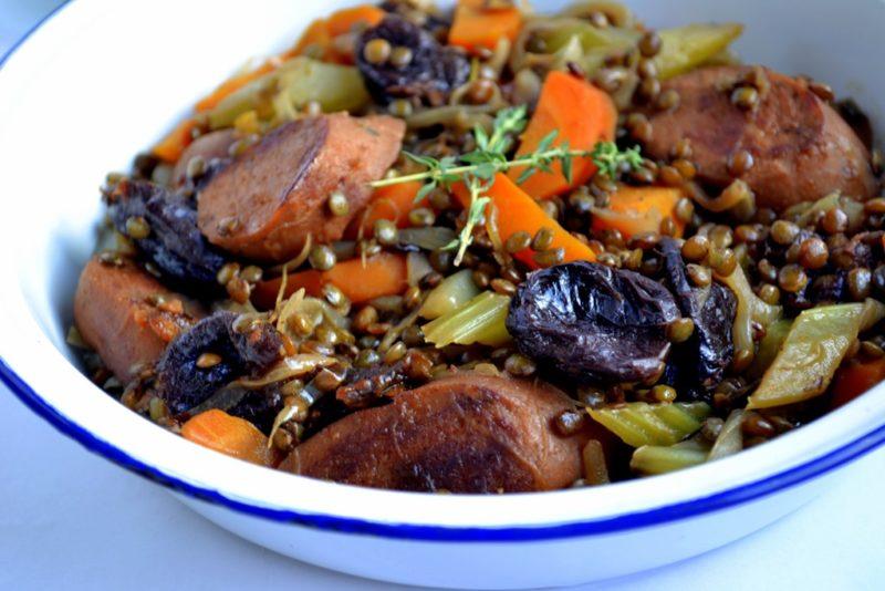 как приготовить мясо с черносливом