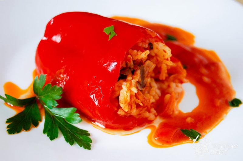 как приготовить перец фаршированный мясом