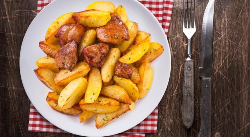как сделать жареную картошку