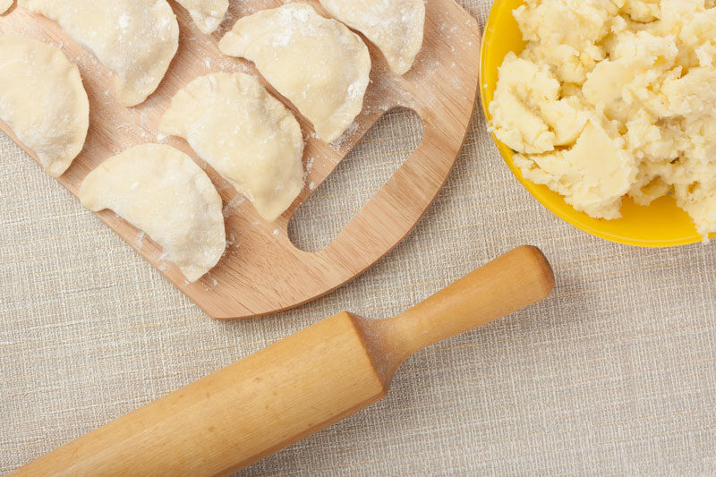 как сделать заварное тесто на вареники