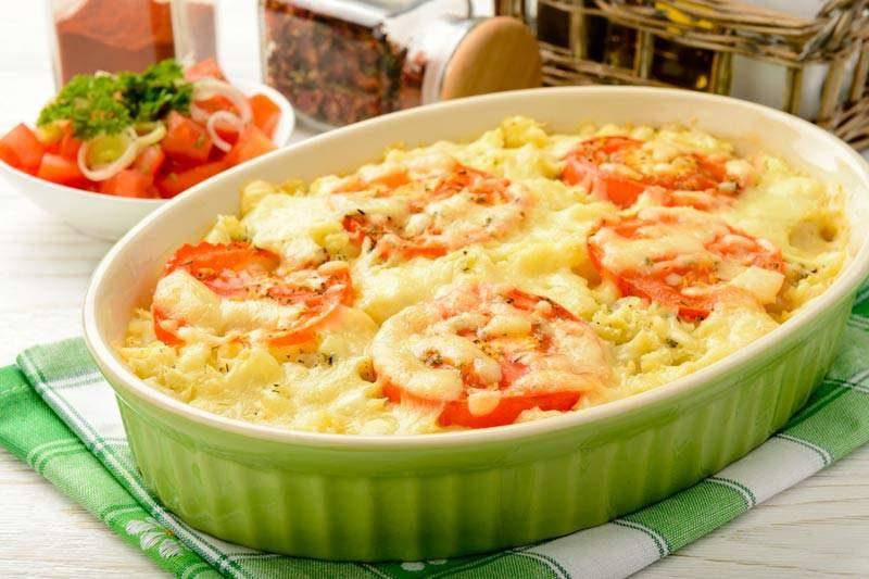картофельная запеканка с мясом рецепт приготовления