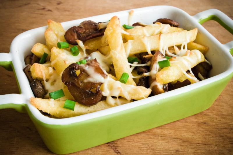 как сделать картошку с грибами