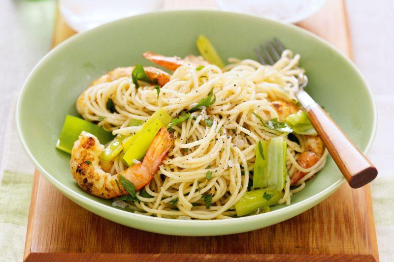 как сделать спагетти