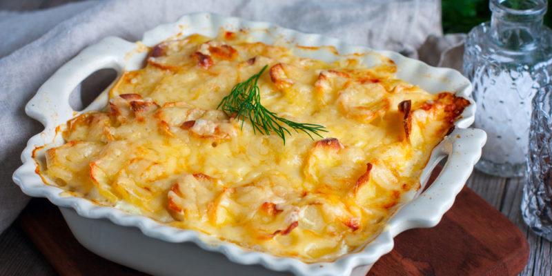картофельная запеканка рецепт приготовления