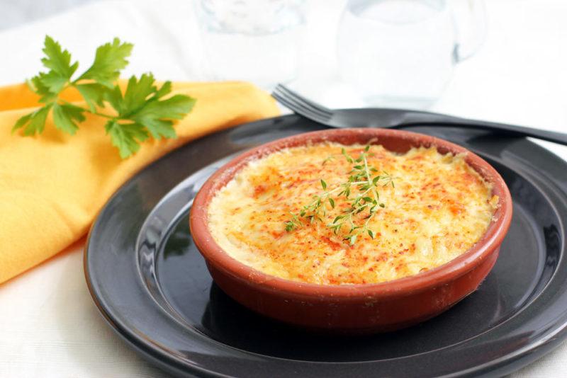 картофельная запеканка с мясом рецепт