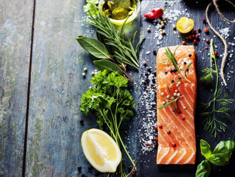 лосось рецепт с фото