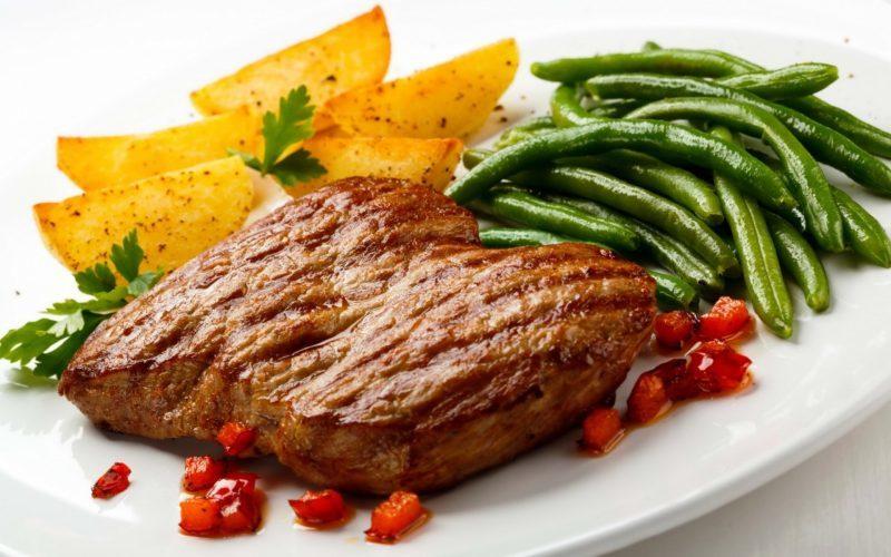 лучшее жареное мясо