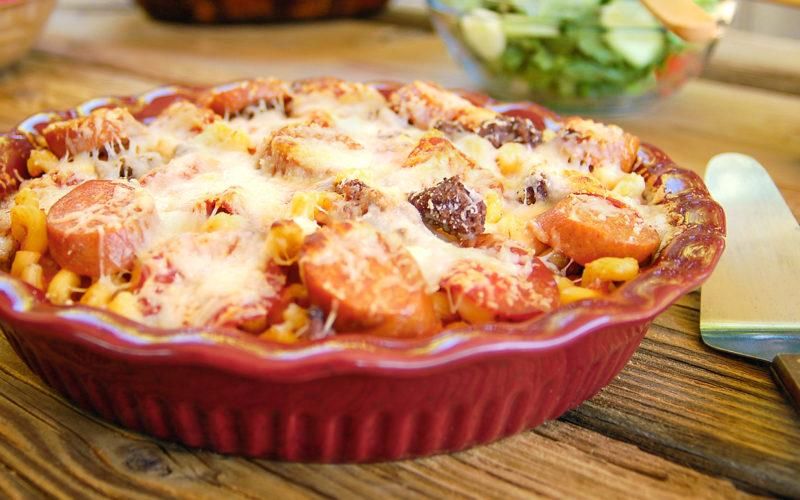 макароны с мясом рецепт