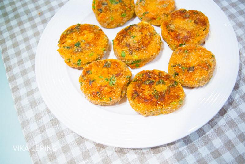 морковные котлеты рецепт с фото