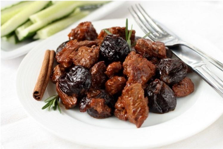мясо с черносливом рецепты