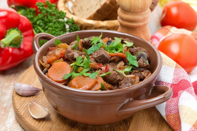мясо тушеное рецепт приготовления