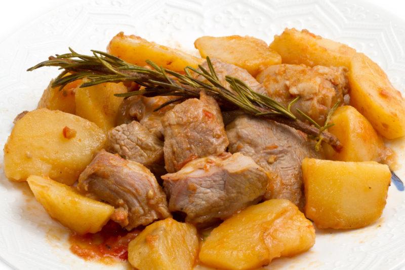 мясо тушеное рецепт