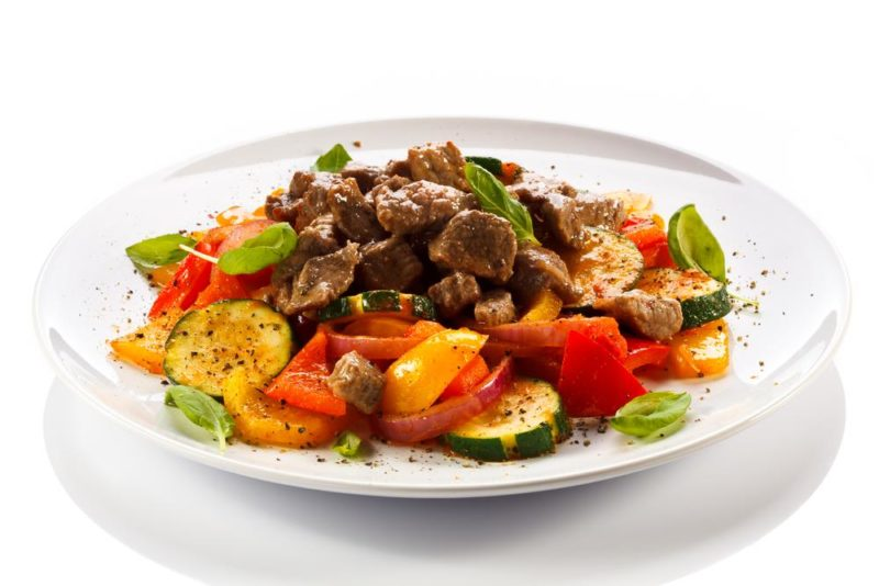 овощное рагу с мясом рецепт приготовления