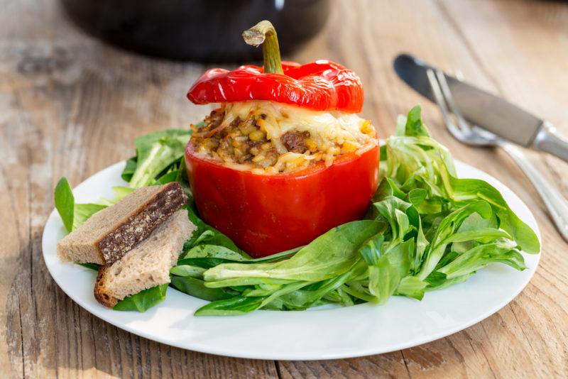 перец фаршированный мясом рецепт