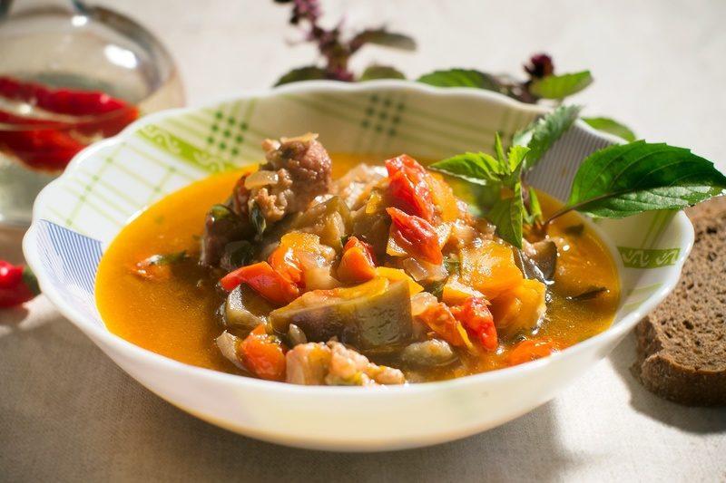 рагу с мясом рецепт приготовления