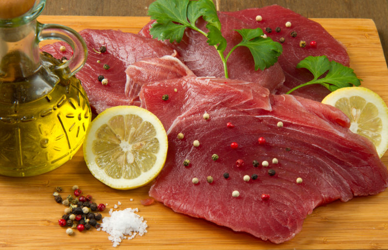 тунец рецепт с фото