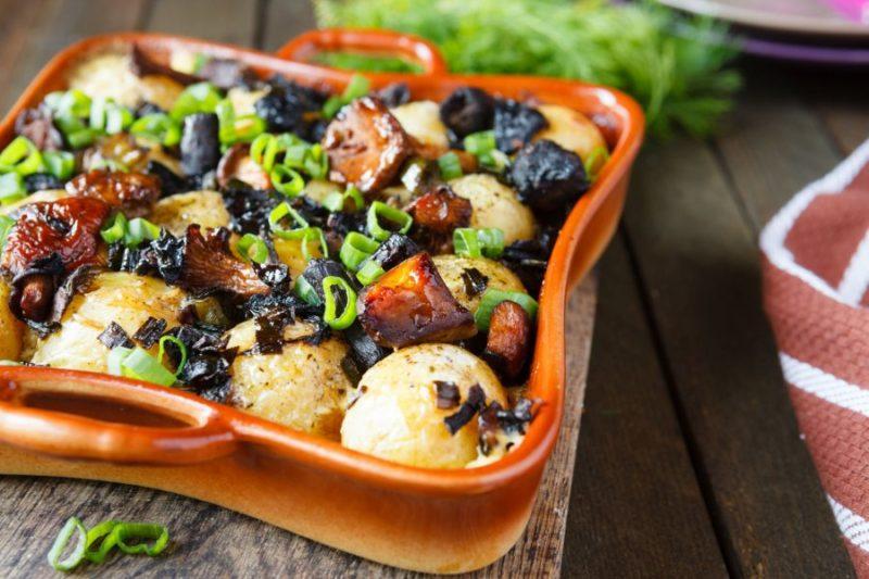 тушеная картошка рецепты