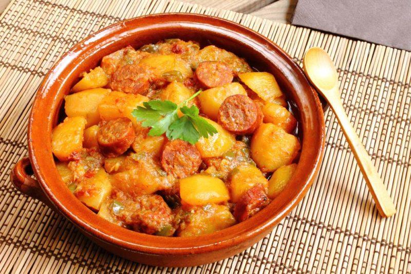 тушеная картошка рецепт приготовления
