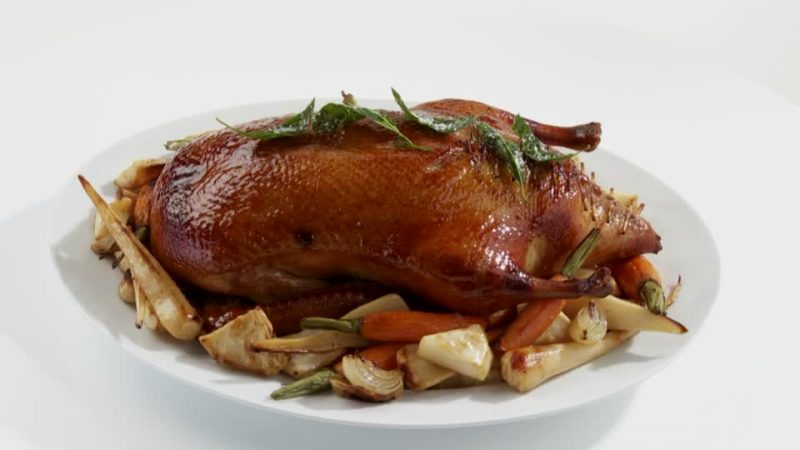 утка в духовке рецепт приготовления