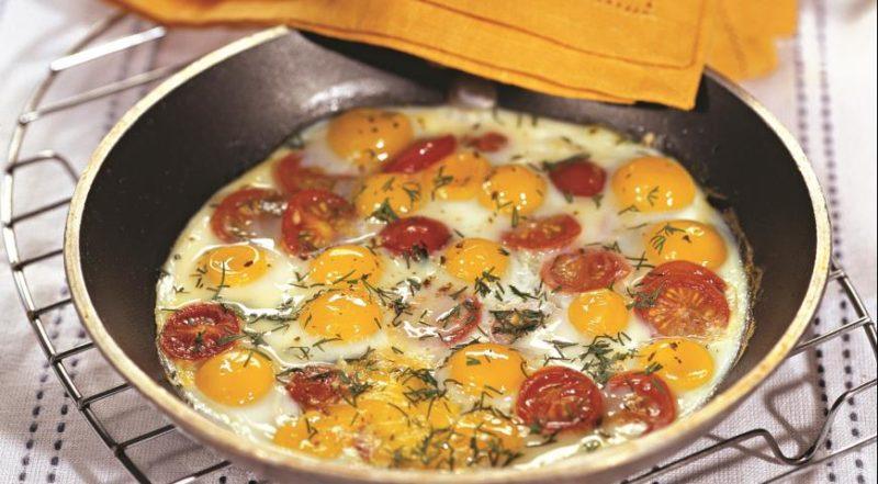 яичница рецепты