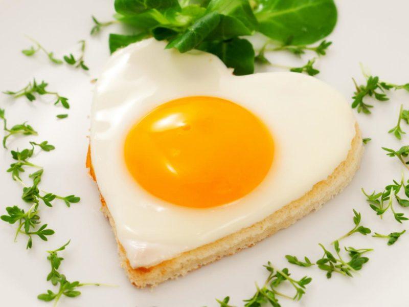 яичница рецепт приготовления