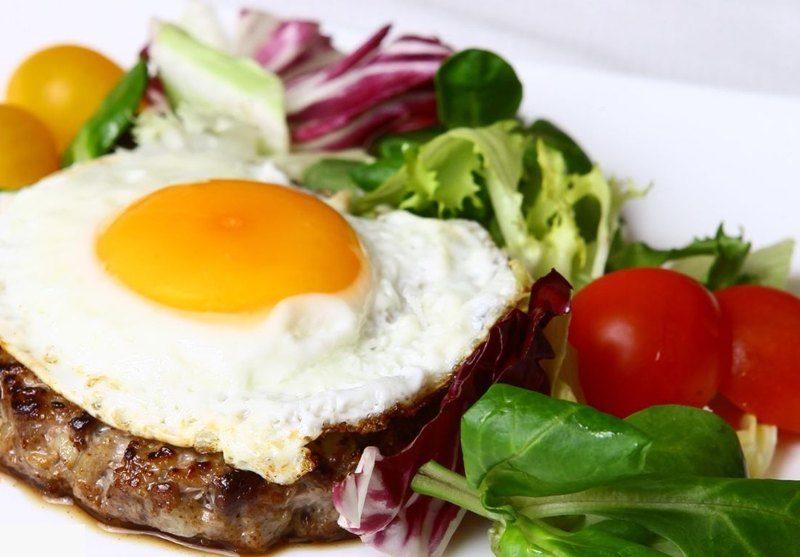 бифштекс с яйцом рецепт приготовления