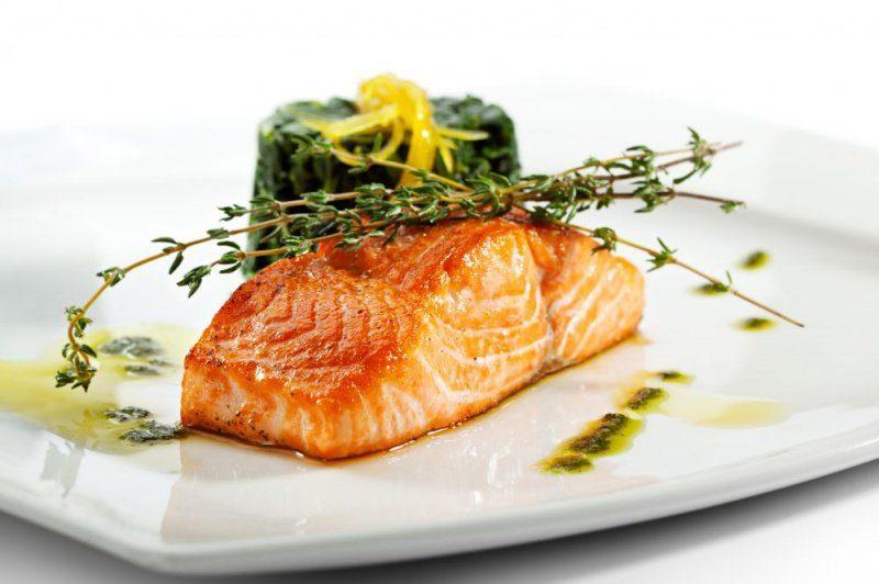 вкусная запеченная рыба