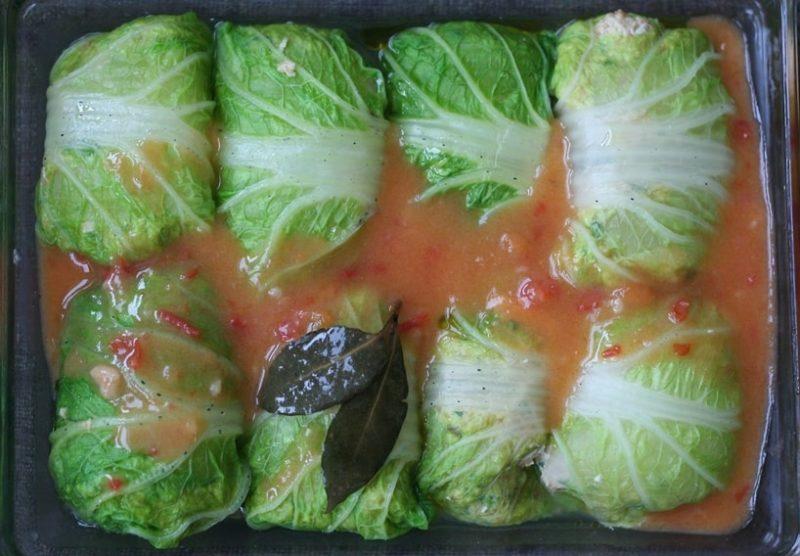 голубцы из пекинской капусты рецепт приготовления