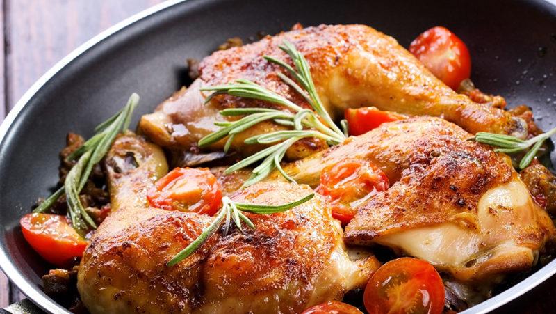 жареная курица рецепты