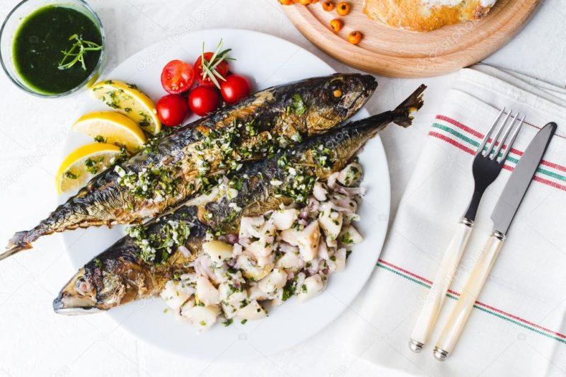 запеченная рыба рецепт с фото