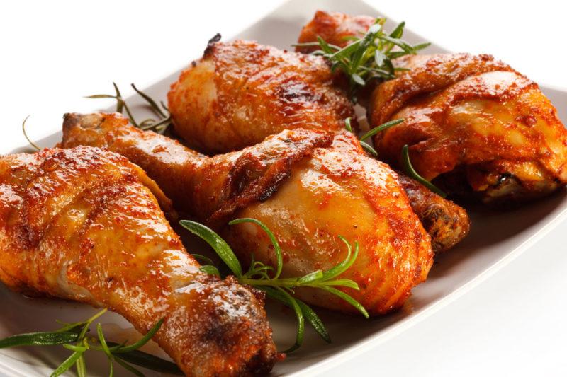 как готовить жареную курицу