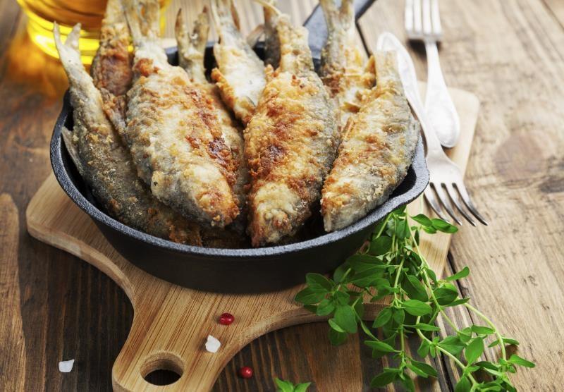 как готовить жареную рыбу