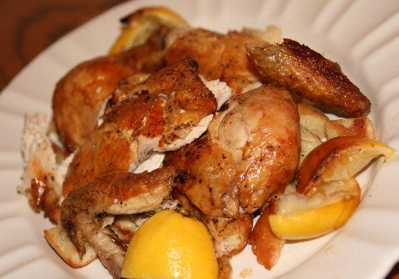 как готовить курицу в фольге