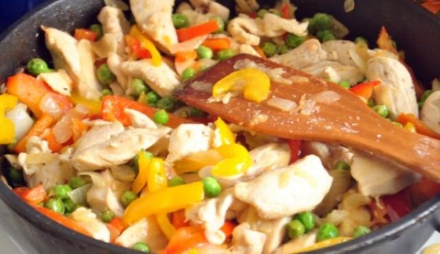 как готовить рагу из курицы