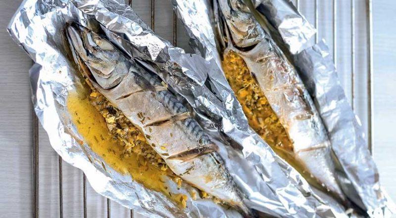 как готовить рыбу запеченную в фольге