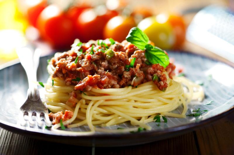 как готовить спагетти с соусом