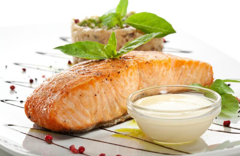 как готовить стейк из лосося