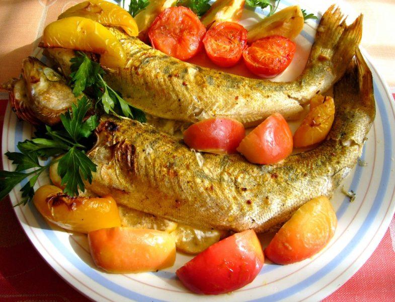 как приготовить запеченную рыбу