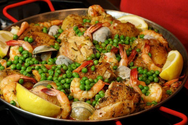 как приготовить паэлья с курицей